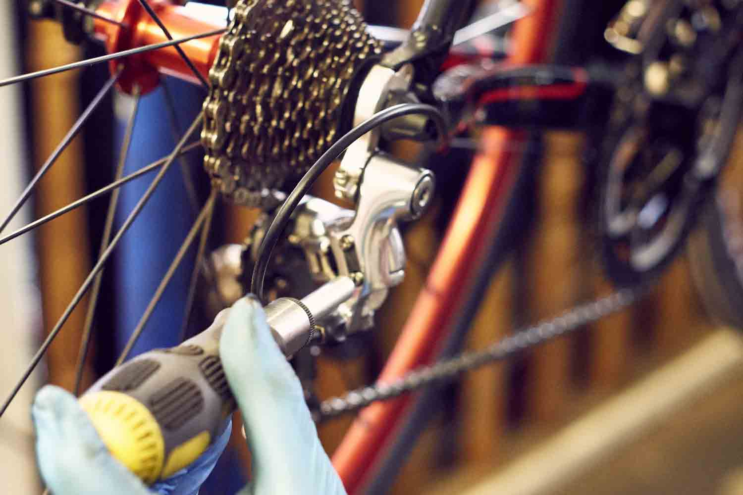 Dolgellau Cycles Bike Repair