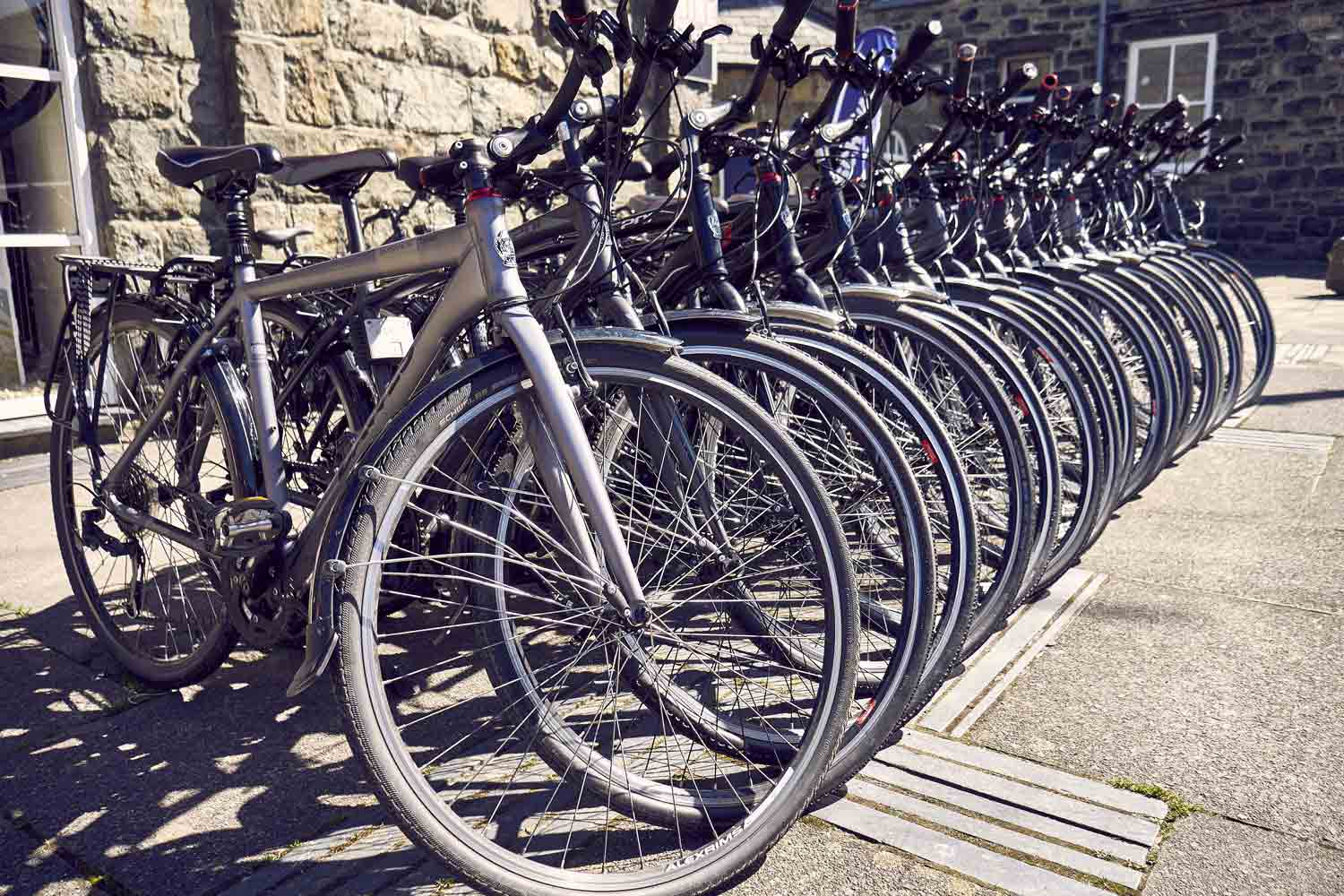 Dolgellau Cycles Bike Hire Large Fleet Dawes Bikes