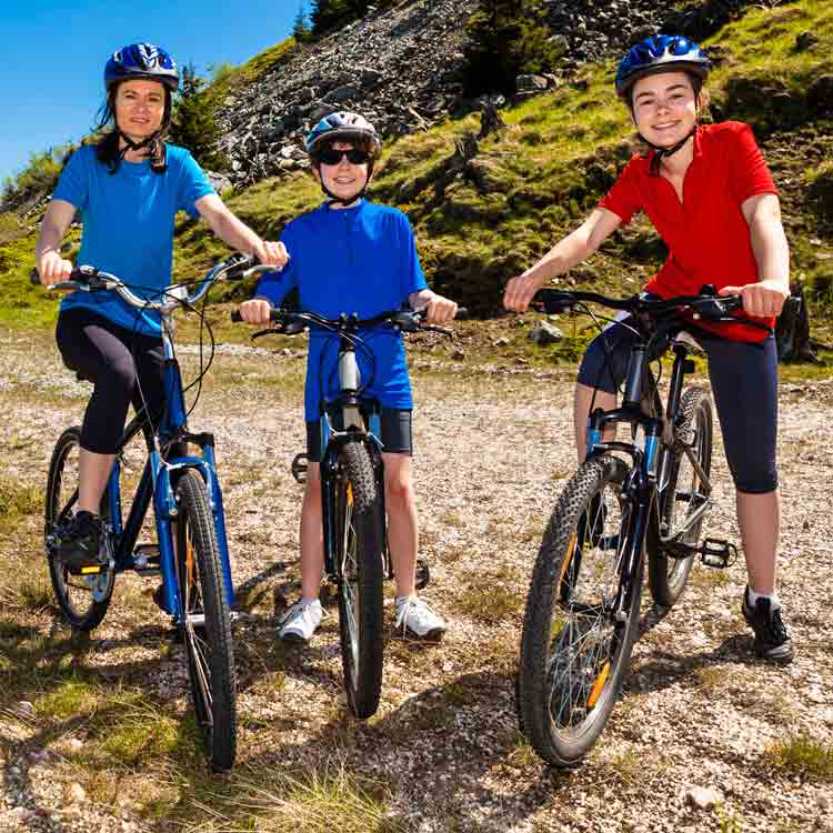 Dolgellau Cycles Bike Hire Family Bikes